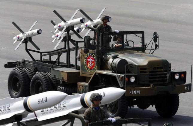 Tên lửa Hàn Quốc sẵn sàng đáp trả Triều Tiên - ảnh 1