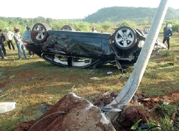 Hôm nay xét xử nguyên Thượng úy CSGT gây tai nạn chết 2 dân phòng - ảnh 1