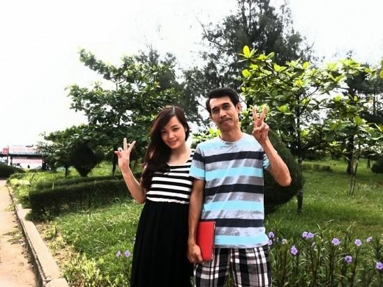 Những quý ông Việt lấy vợ trẻ kém... 30 tuổi - ảnh 1