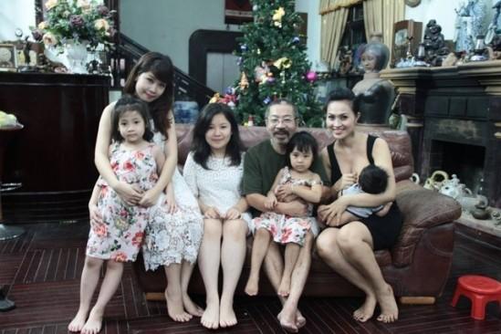 Những quý ông Việt lấy vợ trẻ kém... 30 tuổi - ảnh 5