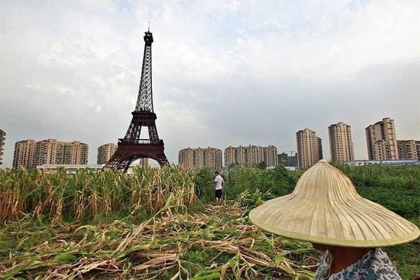Những công trình nổi tiếng thế giới bị Trung Quốc làm nhái - ảnh 1