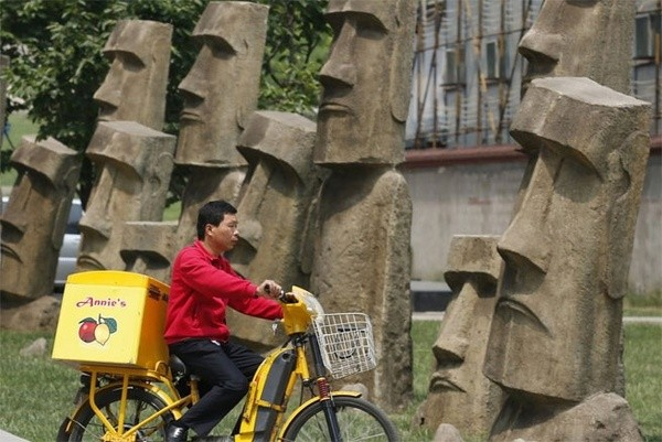 Những công trình nổi tiếng thế giới bị Trung Quốc làm nhái - ảnh 4