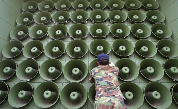 Hàn Quốc bắc loa bật nhạc Kpop hướng sang biên giới Triều Tiên - ảnh 1