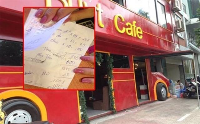 Dân mạng bức xúc với quán cà phê bán 5 cốc sữa chua với giá 1 triệu - ảnh 1