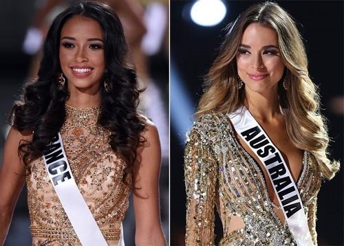 HHHV lại nóng vì Hoa hậu Pháp và Úc 'tranh nhau' giải Á hậu 3 - ảnh 2
