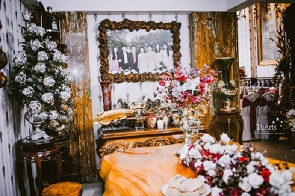 Đám cưới như cung điện, rước dâu bằng máy bay, không nhận tiền mừng - ảnh 13