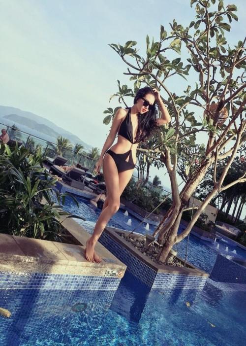 Hotgirl Sài Thành diện bikini khoe dáng đẹp khiến dân mạng 'mát mắt' - ảnh 6