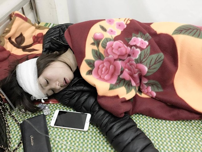 Hot girl Linh Miu bị hành hung khi đi lễ ở Thanh Hóa - ảnh 2