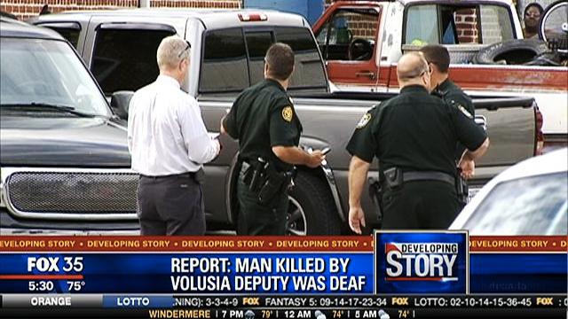 Cảnh sát Mỹ bắn chết người điếc vì nói quá to - ảnh 1
