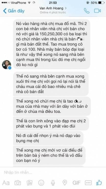 Linh Miu bị 'tố' ngược văng tục, đánh người cao tuổi ở Thanh Hóa - ảnh 3