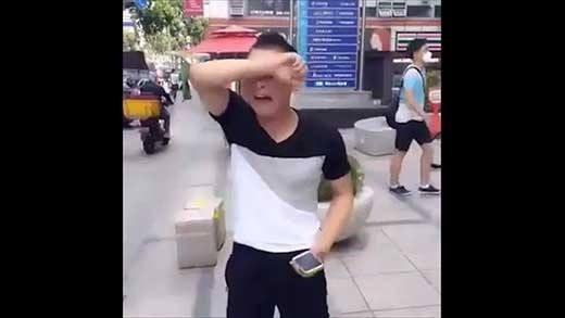 Gặp người yêu 'ảo' ngoài đời nam thanh niên khóc thét giữa phố - ảnh 5