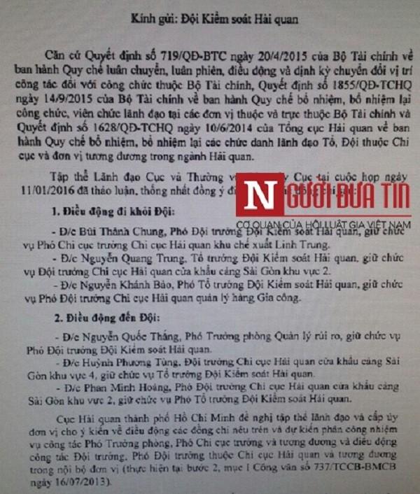 Cán bộ hải quan nhận phong bì tiền tỷ đã từng là tội phạm! (P3) - ảnh 1