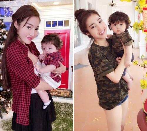 Bộ sưu tập đồ đôi mẹ - con cực 'chất' của Elly Trần - ảnh 12