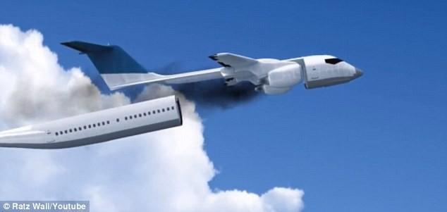 Cận cảnh chiếc máy bay tương lai đảm bảo an toàn tối đa khi tai nạn - ảnh 1