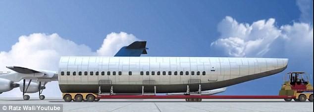 Cận cảnh chiếc máy bay tương lai đảm bảo an toàn tối đa khi tai nạn - ảnh 2