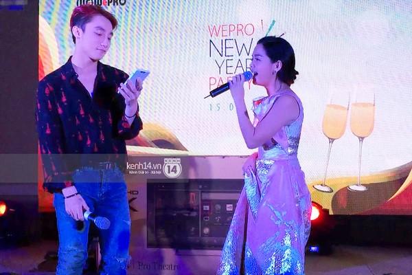Clip: Sơn Tùng song ca 'Cơn mưa tình yêu' cùng Phạm Quỳnh Anh - ảnh 1