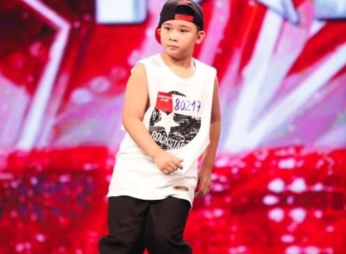 Vietnam's Got Talent: Ba vị giám khảo mê mẩn với cậu bé popping - ảnh 1