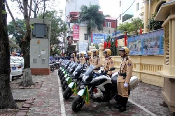 Ngắm dàn xe môtô 750 của CSGT Hà Nội phục vụ đại hội Đảng - ảnh 5