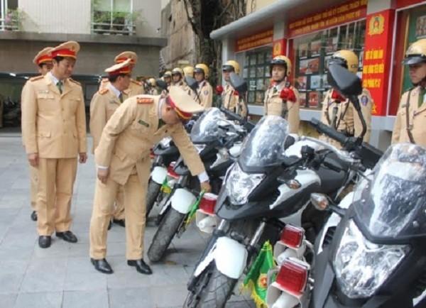 Ngắm dàn xe môtô 750 của CSGT Hà Nội phục vụ đại hội Đảng - ảnh 6