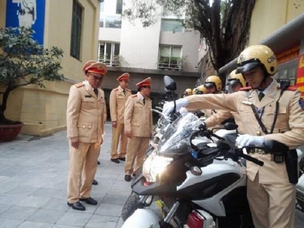 Ngắm dàn xe môtô 750 của CSGT Hà Nội phục vụ đại hội Đảng - ảnh 7
