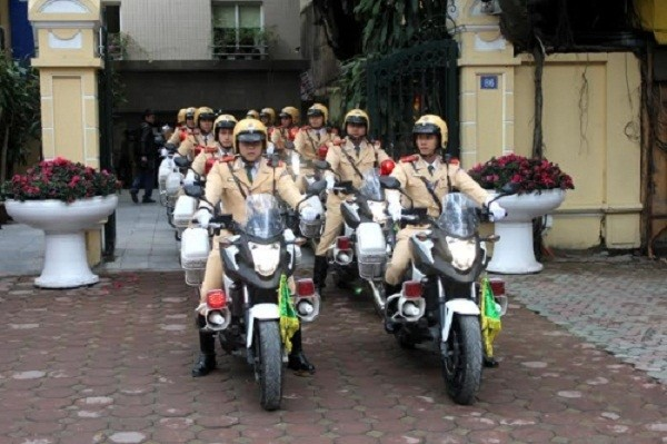 Ngắm dàn xe môtô 750 của CSGT Hà Nội phục vụ đại hội Đảng - ảnh 8