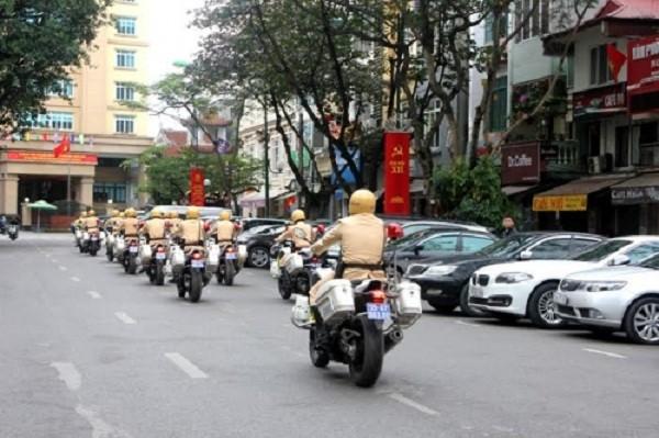 Ngắm dàn xe môtô 750 của CSGT Hà Nội phục vụ đại hội Đảng - ảnh 9
