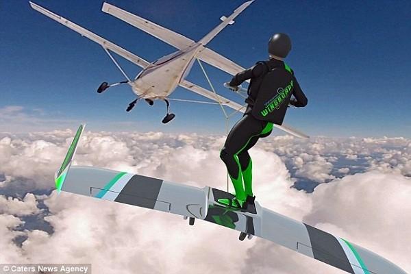 Thử nghiệm công nghệ mới cho phép con người lướt trên mây trời - ảnh 2