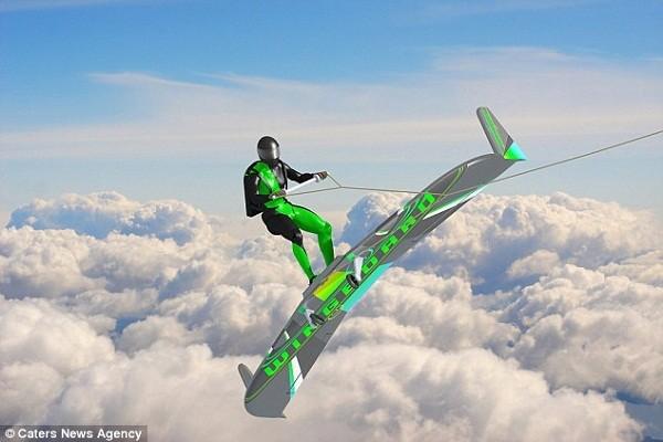 Thử nghiệm công nghệ mới cho phép con người lướt trên mây trời - ảnh 1