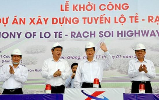 Thủ tướng phát lệnh khởi công tuyến cao tốc nối Cần Thơ, Kiên Giang - ảnh 1