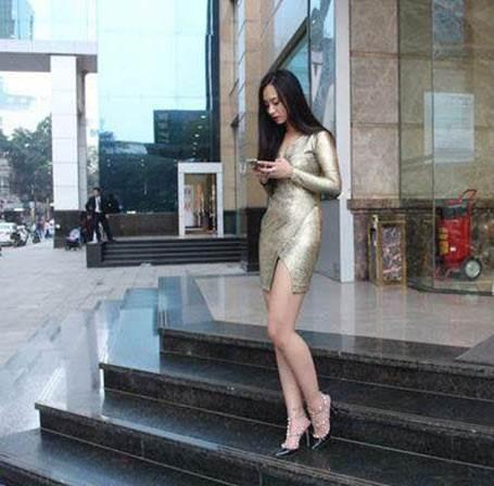 Nữ sinh 18 tuổi chân dài 'mét mốt' kiến cư dân mạng mê mẩn - ảnh 10