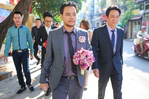Chồng đại gia của Trang Nhung lái siêu xe trong lễ ăn hỏi - ảnh 2