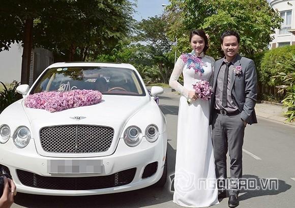 Chồng đại gia của Trang Nhung lái siêu xe trong lễ ăn hỏi - ảnh 3