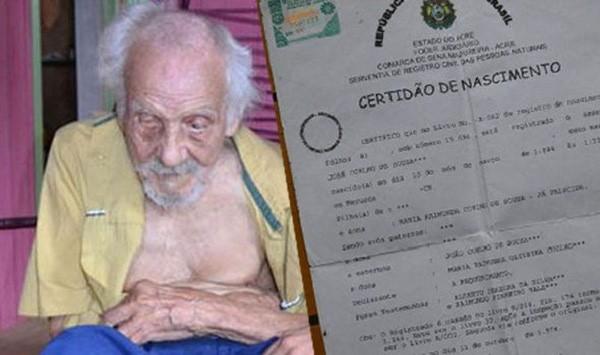 Cụ ông 131 tuổi già nhất thế giới có con ở tuổi 101 - ảnh 1