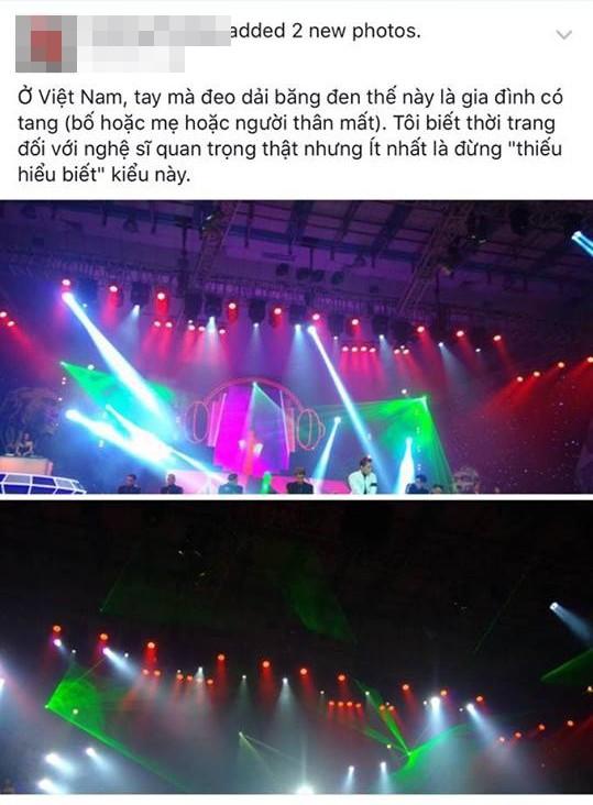 Sơn Tùng đeo 'băng tang' trên sân khấu The Remix gây tranh cãi - ảnh 5