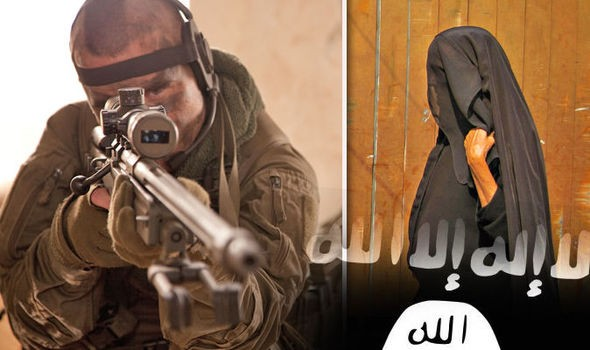 Đặc nhiệm Anh giả gái tấn công vào sào huyệt IS - ảnh 1