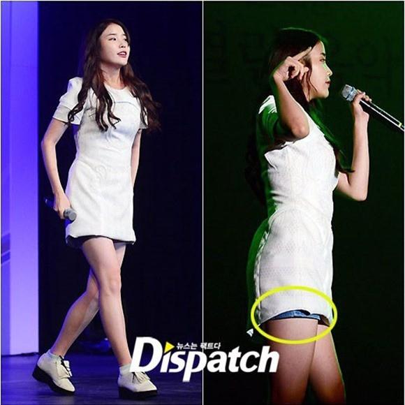 Váy của các ngôi sao K-pop đang ngày một ngắn hơn? - ảnh 6