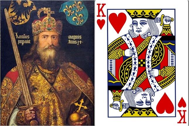 Những nhân vật bí ẩn đằng sau quân bài J, Q, K trong bộ bài tây - ảnh 3