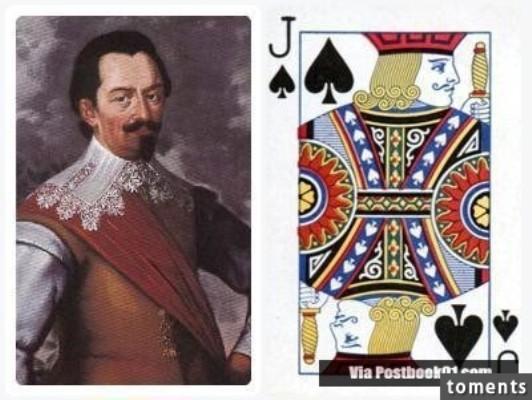 Những nhân vật bí ẩn đằng sau quân bài J, Q, K trong bộ bài tây - ảnh 12