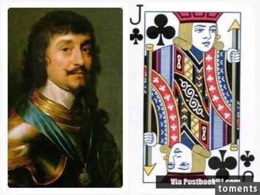 Những nhân vật bí ẩn đằng sau quân bài J, Q, K trong bộ bài tây - ảnh 9