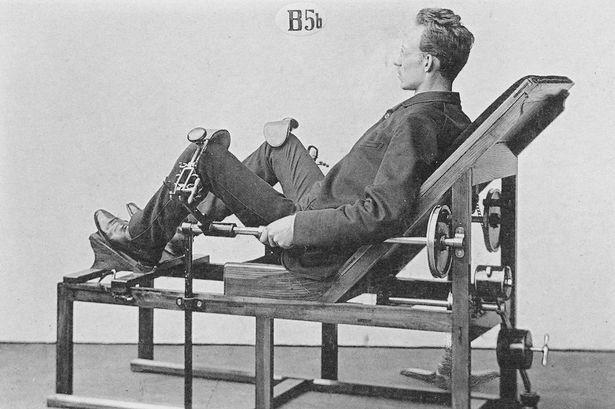 Chiêm ngưỡng cỗ máy tập gym đời đầu từ hơn 130 năm trước - ảnh 1