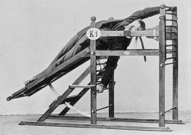 Chiêm ngưỡng cỗ máy tập gym đời đầu từ hơn 130 năm trước - ảnh 6