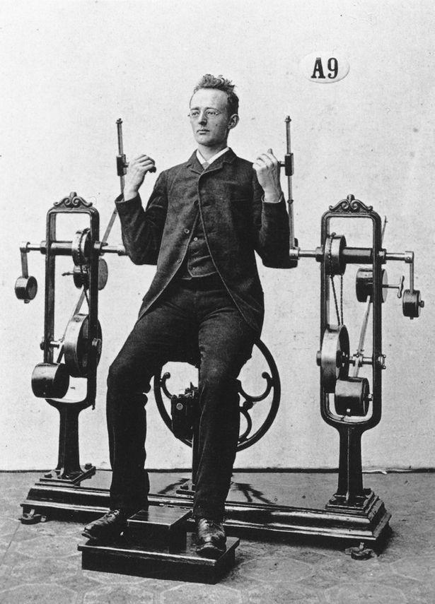 Chiêm ngưỡng cỗ máy tập gym đời đầu từ hơn 130 năm trước - ảnh 7