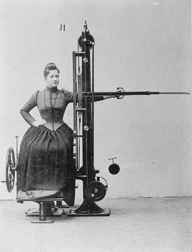 Chiêm ngưỡng cỗ máy tập gym đời đầu từ hơn 130 năm trước - ảnh 8