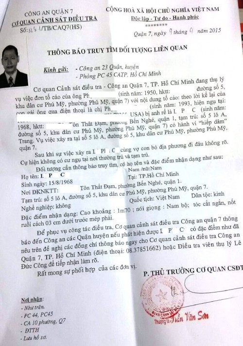 'Đại gia' Sài Gòn bị tố xâm hại nữ du học sinh - ảnh 1