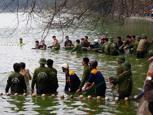 'Cụ' rùa Hồ Gươm và lần vớt lưới trị bệnh đáng nhớ - ảnh 3