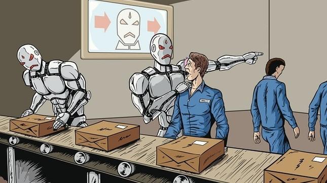 Con người sẽ bị robot 'cướp' 5 triệu việc làm trong 10 năm tới - ảnh 1