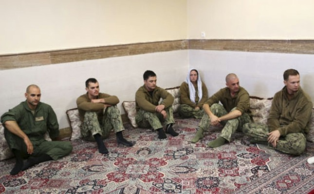 Bí mật đằng sau vụ 10 thủy thủ Mỹ bị Iran bắt giữ - ảnh 1