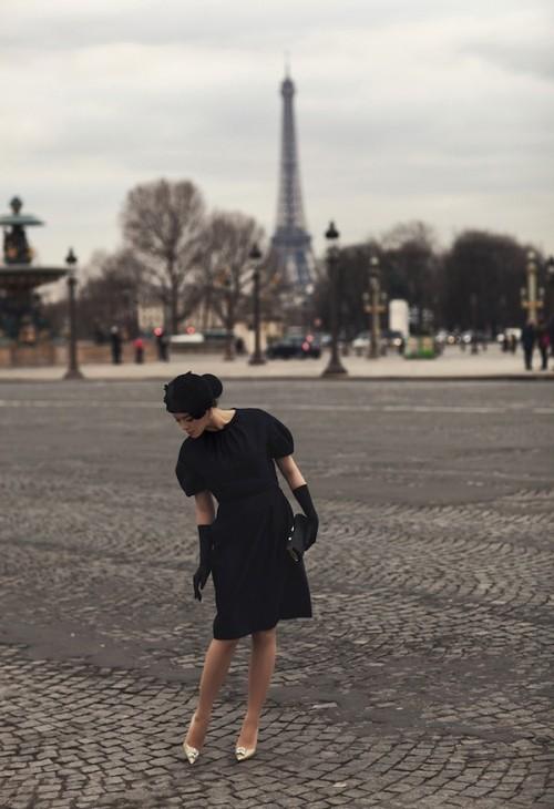 Lý Nhã Kỳ kiêu sa trong bộ ảnh mới ở Paris hoa lệ - ảnh 4