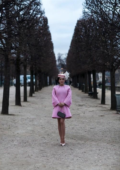 Lý Nhã Kỳ kiêu sa trong bộ ảnh mới ở Paris hoa lệ - ảnh 5