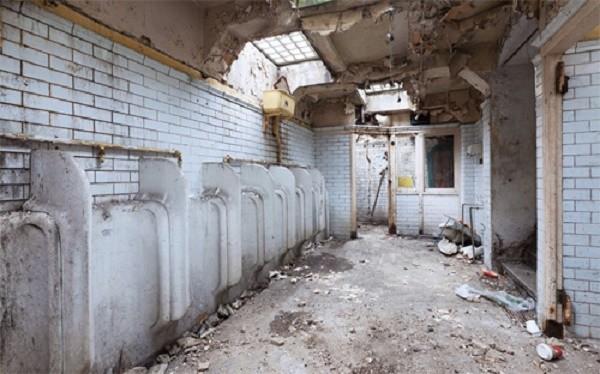 Cải tạo toilet bỏ hoang thành căn nhà đẹp ngập tràn ánh sáng - ảnh 1